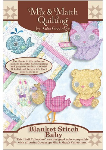 (Anita Goodesign Embroidery Machine Designs CD BLANKET STITCH)