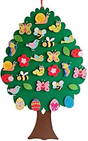 Ostern DekOo Kinder Geschenke 2020 Ostern Kinder DIY Filz Anhänger Kinderzimmer Cartoon WanddekOoration Anhänger Lernspielzeug Für Kinder Kinder