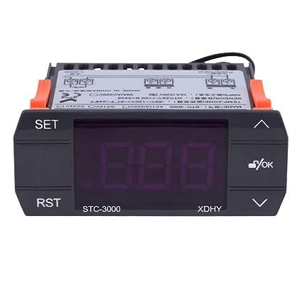 KUNSE Stc-3000 110V 220V Toque Digital Termostato Regulador De Temperatura 10A 30A Instrumentos con