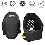 ToughBuilt GelFit Professional Knee Pads - Comfortable Gel Cushion & Heavy Duty Foam Padding, Strong Adjustable Straps, Premium Quality Built to Last (TB-KP-G2) (SnapShell compatible) NEW