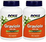 Cheap NOW Foods Graviola (100 Vcaps Pack of 2)