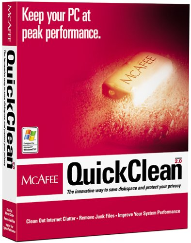 McAfee Quickclean 2.0