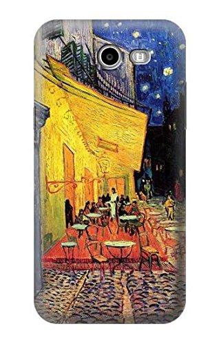 R0929 Van Gogh Cafe Terrace Case Cover for Samsung Galaxy J3 Emerge, J3 Prime, J3 Eclipse, Express Prime 2, Amp Prime 2, J3 Luna Pro, J3 Mission, J3 Eclipse, Sol 2 (SM-J327)