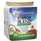 Sunwarrior - Warrior Blend, Raw, Plant-Based Protein, Natural, 20 Servings (1.1 lbs) (FFP)