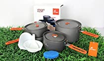 Fire Maple Outdoor Camping Pots Pans Cooking Set Picnic Cookware Set Feast-5