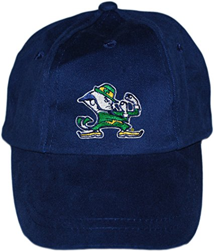 Creative Knitwear University of Notre Dame Fighting Irish Baby and Toddler Baseball Hat Navy