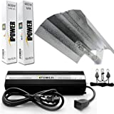 iPower 400 Watt HPS MH Digital Dimmable Grow Light System Kits Wing Reflector Set