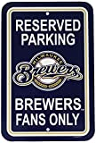 Milwaukee Brewers Plastic Parking Signs