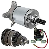 Caltric Starter Drive & Relay Solenoid Fits POLARIS SPORTSMAN 500 1996-2002