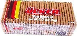 Ulker Tea Biscuits (Petit Beurre) Turkish 175 gram package