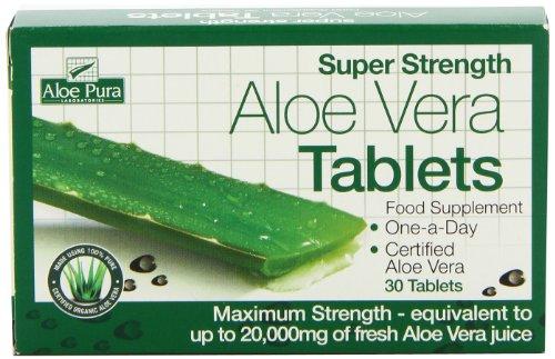 The Healthy Option Super Strength Aloe Vera 30 (Aloe Vera 30 Tablets)