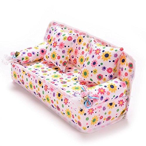 Xiton CoscosX Barbie Möbelzubehör von 1PC Couch fa7f7cb48c