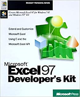 Microsoft excel 97 developers kit with cdrom extend and customize microsoft excel 97 developers kit with cdrom extend and customize microsoft excel using c and the microsoft excel api microsoft press thecheapjerseys Choice Image