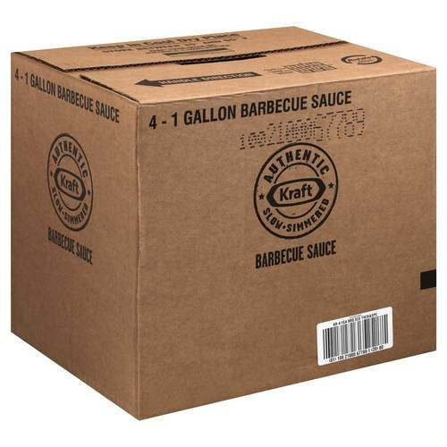 Sauce Thick Nspicy Original Barbecue 4 Case 1 Gallon