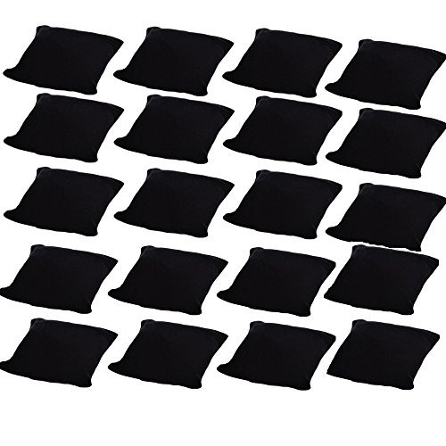 M-Aimee 20-pieces Velvet Small Bracelet/Watch Pillow Jewelry Displays (Black)