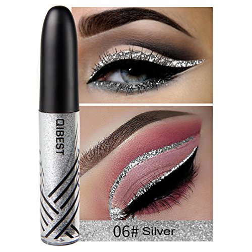 Petansy Waterproof Eyeliner Liquid Eyeliner Glitter Eyeliner Pen Metallic Liquid Eyeliner 13 Colors