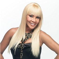 Vivica A. Fox H157-V Premium Human Hair, Yaki Texture, PS Cap Wig in Color 1