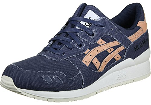 Escoger Una Mejor Línea Barata Venta Recomienda Asics Gel Lyte III Platinum Collection Indigo Blue/Tan - Sneakers Uomo jhaqg0d