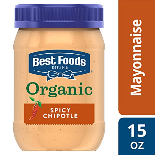 Best Foods Mayonnaise, Organic Spicy Chipotle, 15 oz (Best Foods Organic Mayonnaise Ingredients)