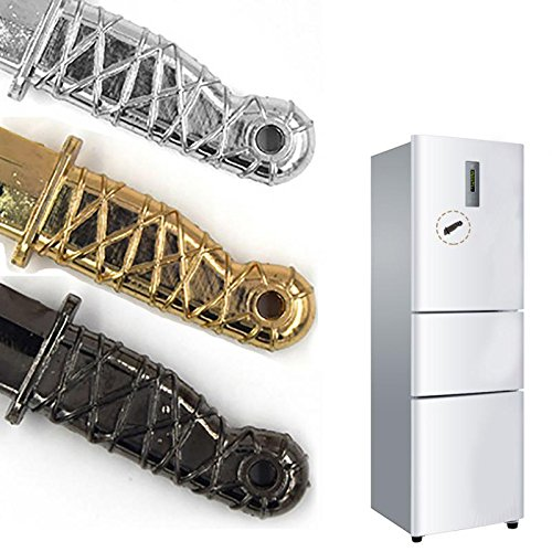 Home Decor Gift 2Pcs Ninja knife Refrigerator dagger magnet Fridge Magnet Message posted -Pier 27
