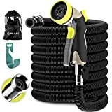 ALMA Expandable Garden Hose 50ft - Strongest Expandable Water Hose with Extra..