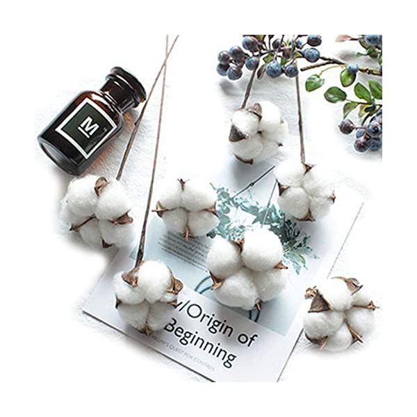 Artfen-10-Pack-Artificial-Cotton-Boll-Wire-Iron-Stem-DIY-Flower-Arrangement-Props-Home-Wedding-Hotel-Party-Decor-Approx-13-High