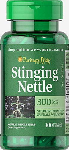Puritans Pride Stinging Nettle Capsules product image