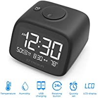 SZTROKIA Multifunctional Digital Alarm Clock