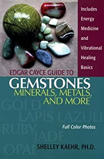 Edgar cayces sacred stones the a z guide to working with gems to edgar cayce guide to gemstones minerals metals and more fandeluxe Images