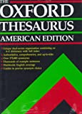 The Oxford Thesaurus, Laurence Urdang, 0195073541