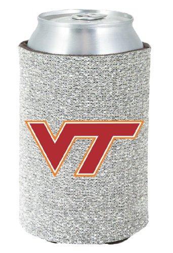 Virginia Tech Hokies Kolder Kaddy Can Holder - Glitter (Kaddy Tech)