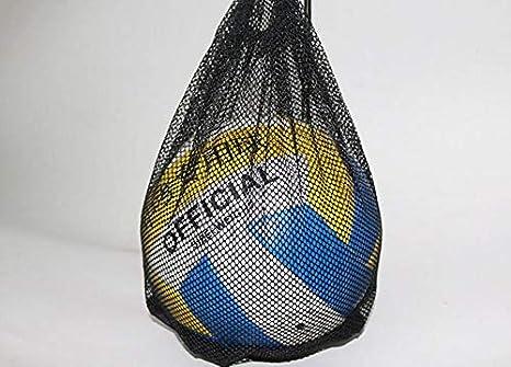 CBGDTJHDS Bolsa de Malla con cordón para balón de fútbol Deportivo ...