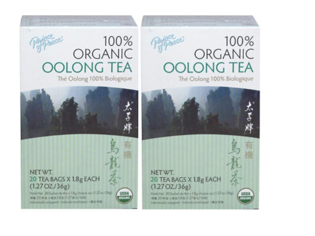 Organic Oolong Tea Prince Of Peace 20 Bag (2 Pack) by Prince Of Peace