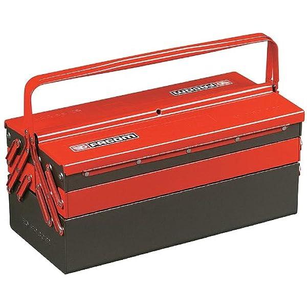 Facom BT.13A - CAJA METALICA 5 COMPARTIMIENTOS 550X220X235 MM GRAN VOLUMEN: Amazon.es: Bricolaje y herramientas