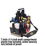 Custom LeatherCraft 1526 25 Pocket Electrical and Maintenance Tool Pouch