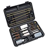 GLORYFIRE Gun Cleaning Kit 32 Pieces Brass Tips and Jags Perfect for Hand Guns Rifles