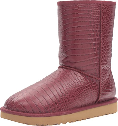 Ugg Australia Classic Short Boot (UGG Women's Classic Short Croco Lonely Hearts Boot 7 B (M))