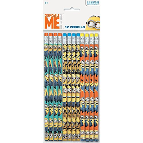 Despicable Me Minions Pencils, 12ct