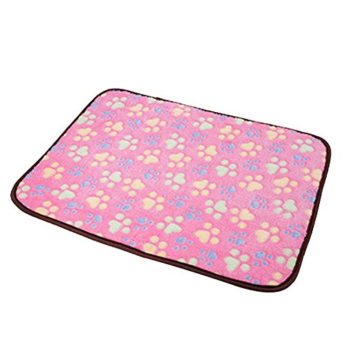 Pet Dog Mat,Pet Dog Reversible Blanket,Cat Puppy Chilly Ice Cooler Summer Sleeping Bed Pad,Kennels House Hole Cave Nest for Pets Doghouse for Small Medium Large Dogs Cushion Crate Mat Pillow ()