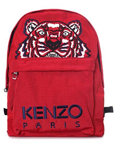 Red Kenzo In Con Zaino Tigre Tessuto Rosso Kenzo xv06w