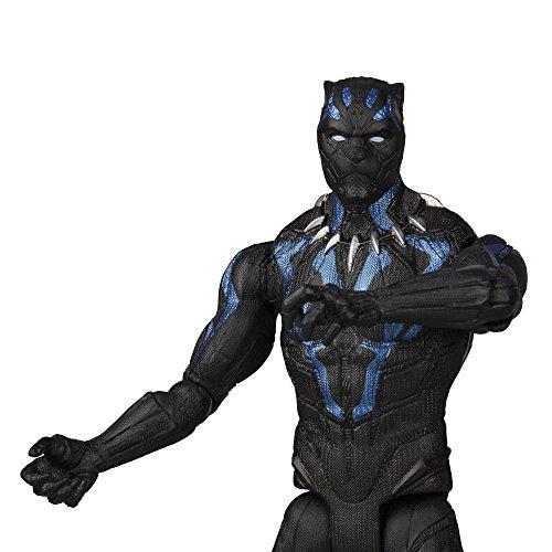 Marvel Black Panther 6 Inch Figure [Vibranium Black Panther ...
