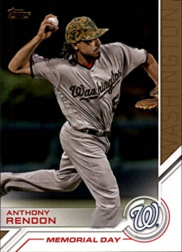 2017 TOPPS SALUTE #S33 ANTHONY RENDON