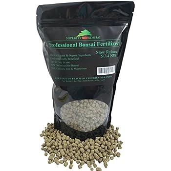Professional Bonsai Fertilizer - Rich In Organic & Natural Ingredients - Slow Release - Immediately fertilizes and then fertilizes over 1-2 months - Good 4 House Plants, Cactus & Succulents (2 Pound)