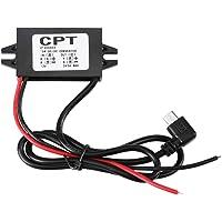 12v / 5v módulo convertidor - DC-DC 12V a 5V 3A Micro USB Convertidor de reducción de tensión del regulador for el coche…