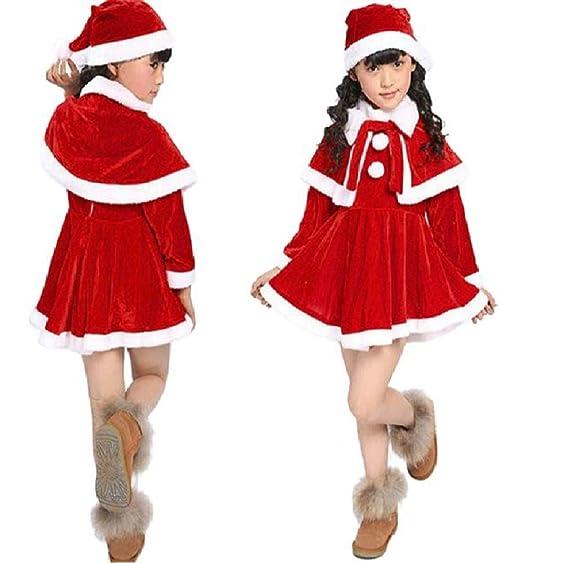 92cfcd4fe139 Amazon.com  Girl Christmas Costume