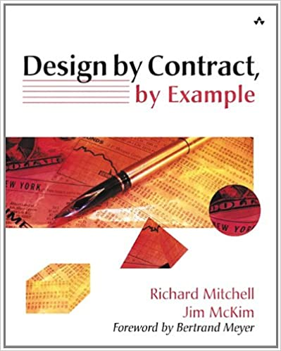 Design By Contract By Example Richard Mitchell Jim Mckim