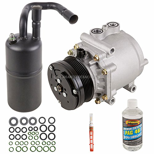 AC Compressor w/A/C Repair Kit For Ford Crown Victoria Mercury Grand Marquis Marauder 2003 2004 2005 - BuyAutoParts 60-80333RK New