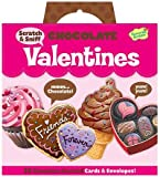 Peaceable Kingdom Funny Valentine 28-Card Super Packs, in Scratch & Sniff Chocolate