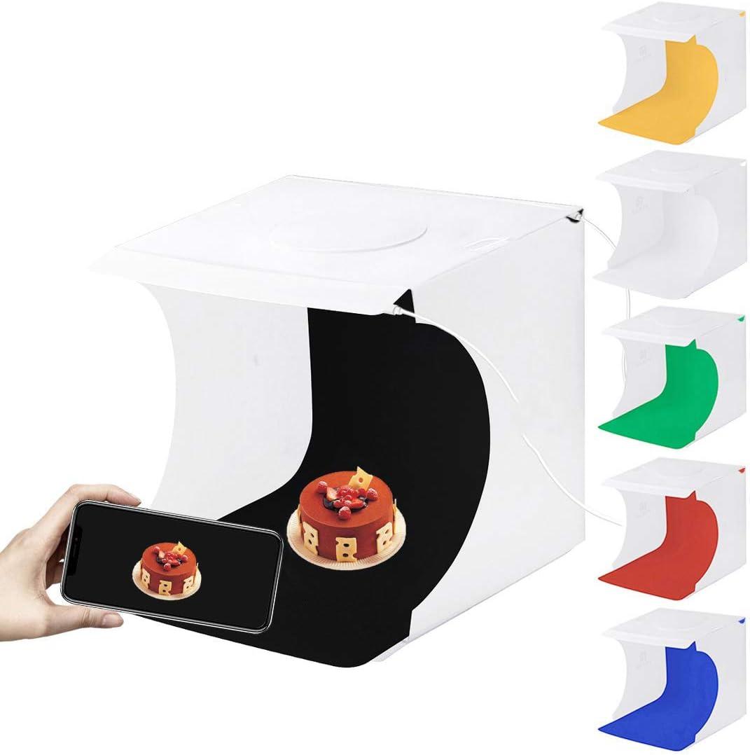 SHENXIAOMING Caja de Luz Fotografia 40 x 40 x 40cm Kit Caja de ...