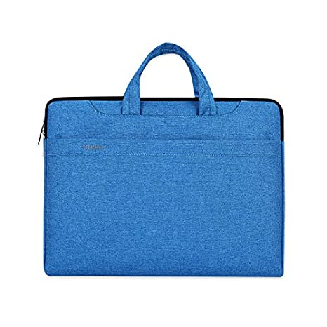 Jia Hu 1pieza Slim portátil maletín cartera bolsa documento organizador bolsa caso de viaje College, color azul: Amazon.es: Oficina y papelería